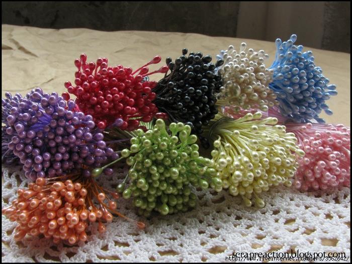 Как сделать тычинки для цветов своими руками видео