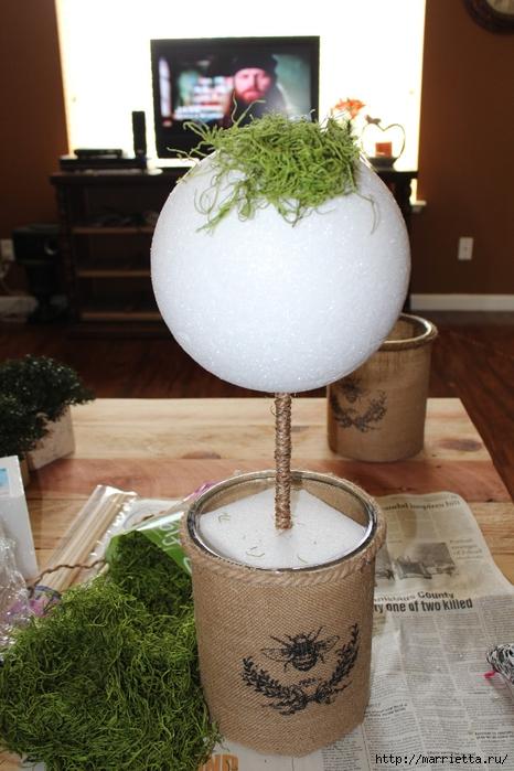 Декоративный искусственный мох для топиария. Мастер-класс (7) (466x700, 250Kb)