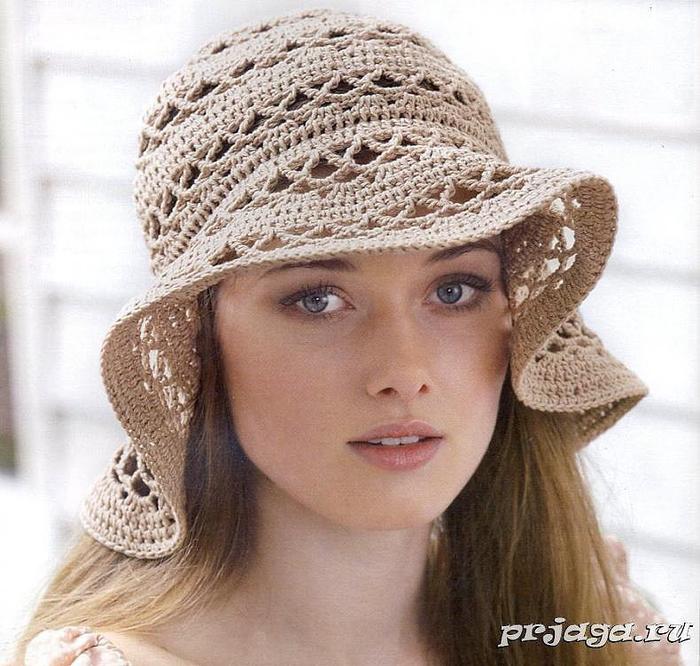 летние шляпы крючком - Самое