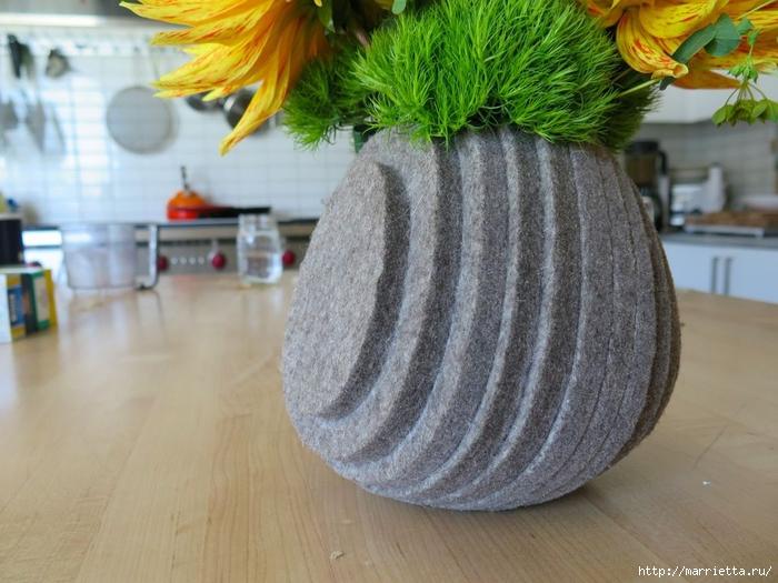 Креативная многослойная ваза из войлока (6) (700x525, 269Kb)