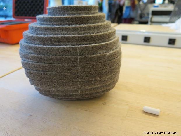 Креативная многослойная ваза из войлока (10) (620x465, 130Kb)