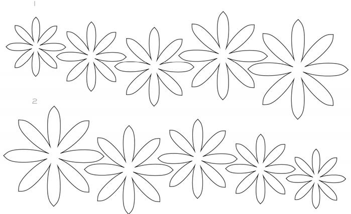 СУККУЛЕНТЫ из текстурной бумаги. Шаблоны для распечатки (3) (700x427, 131Kb)
