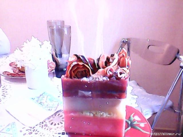 Как сделать из мыла свечу
