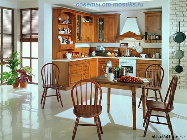жирные пятна на деревянной мебели