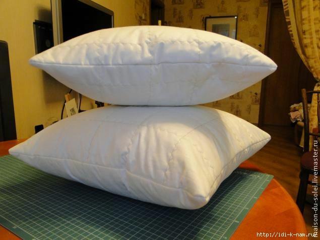 как из чего сшить сделать подушку,