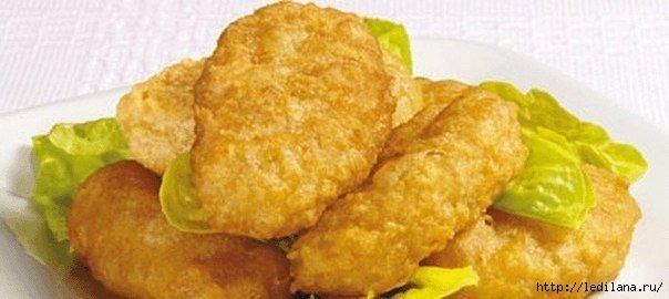 Хрустящие куриные наггетсы лучше, чем в макдональдсе