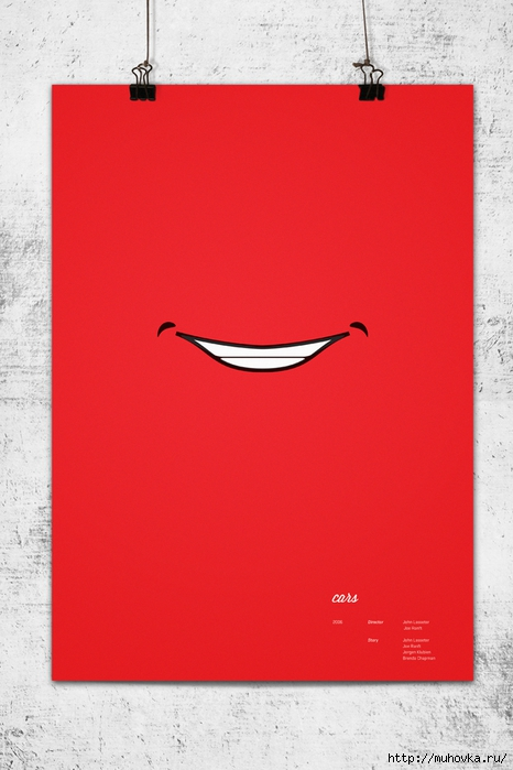 Pixar-Minimalist-Poster-Cars-Lightening-Mc-Queen (466x700, 192Kb)