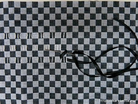 Как украсить полотенце вышивкой лентами. 4 мастер-класса (45) (450x338, 178Kb)