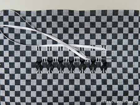 Как украсить полотенце вышивкой лентами. 4 мастер-класса (49) (450x338, 171Kb)
