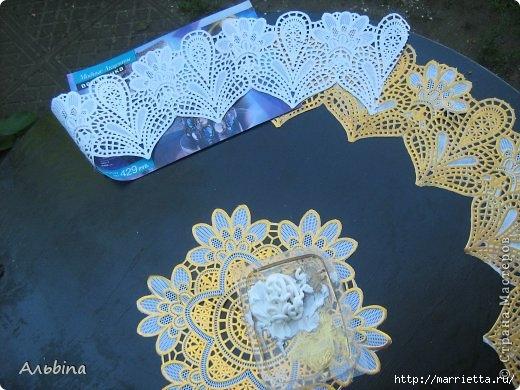 Декорирование круглого столика виниловыми салфетками (3) (520x390, 157Kb)