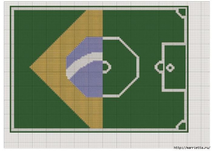 Вышивка салфеток к Чемпионату мира по футболу (2) (700x497, 281Kb)