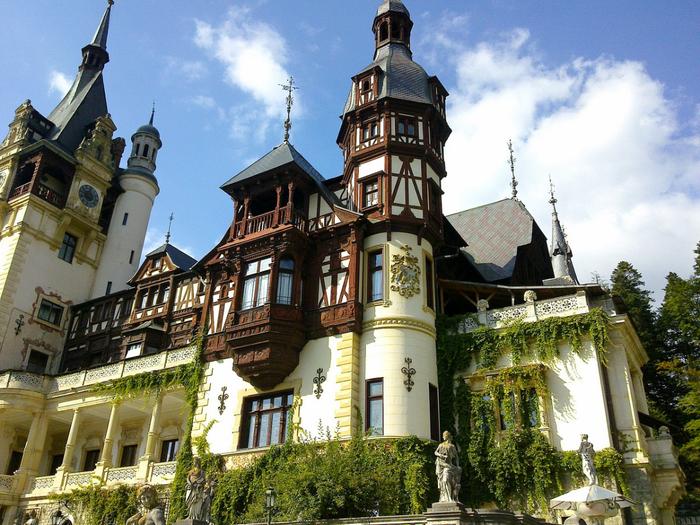 Замок Пелеш румыния фото 7 (700x525, 541Kb)