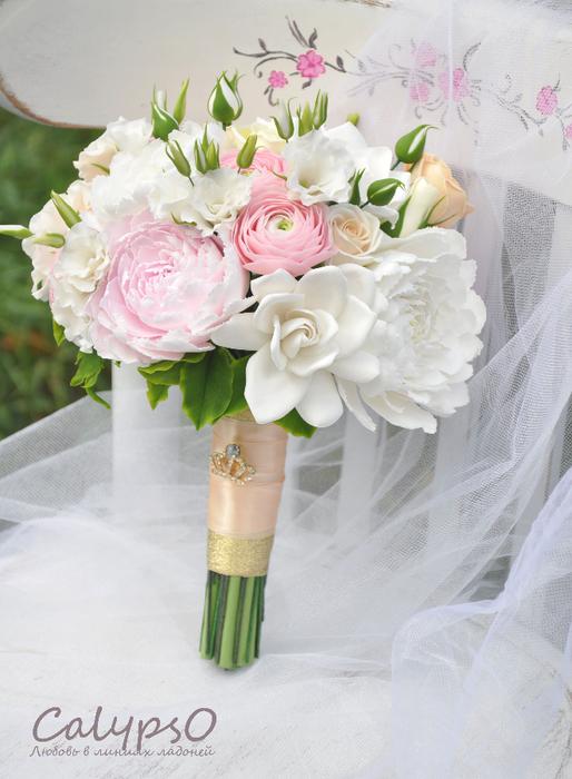 Свадебные букеты из полимерной глины
