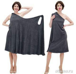 Как сшить легкое платье с запахом