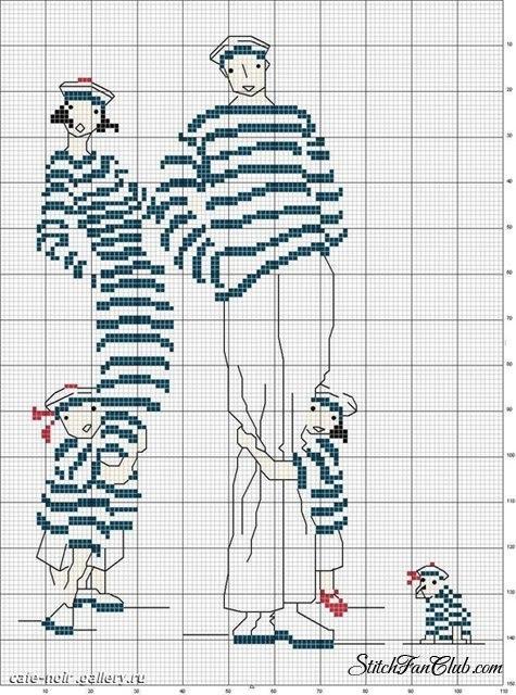 Схема вышивки морская тематика фото 163