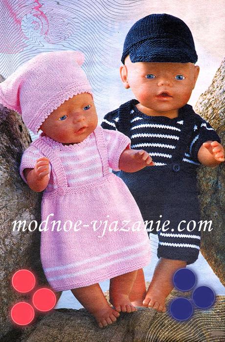 Вяжем покрывало для кукол