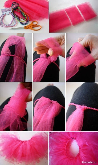 Практически все пышные детские платья из фатина имеют юбку туту, ее еще