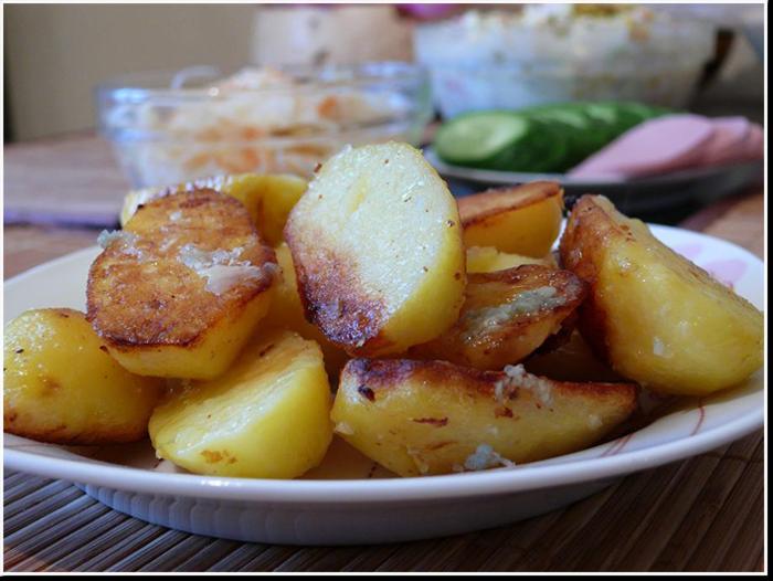 молодая картошка поколение рецепт