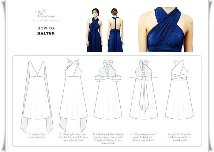 Как сшить платье трансформер выкройка