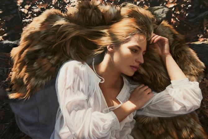 женские портреты  Игаль Озери 1 (670x446, 176Kb)