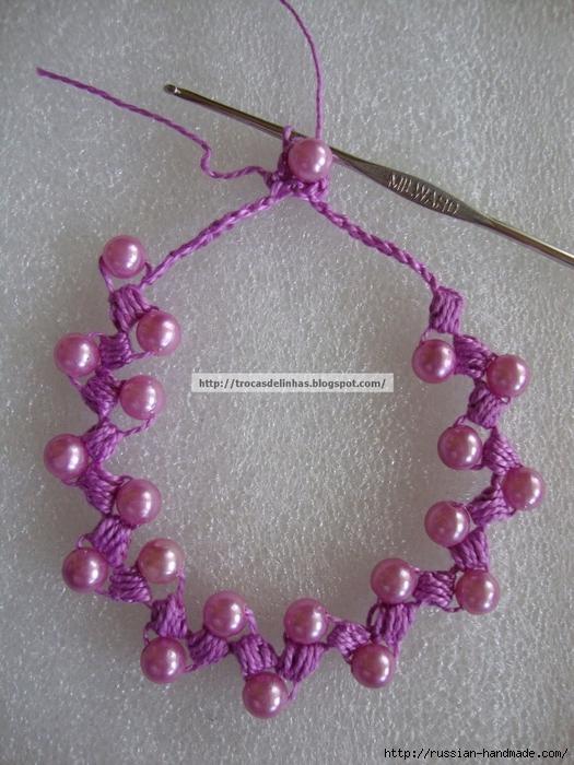 Как связать крючком нежное ожерелье. Мастер-класс (1) (525x700, 318Kb)