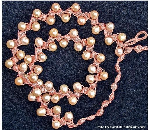Как связать крючком нежное ожерелье. Мастер-класс (3) (508x446, 249Kb)