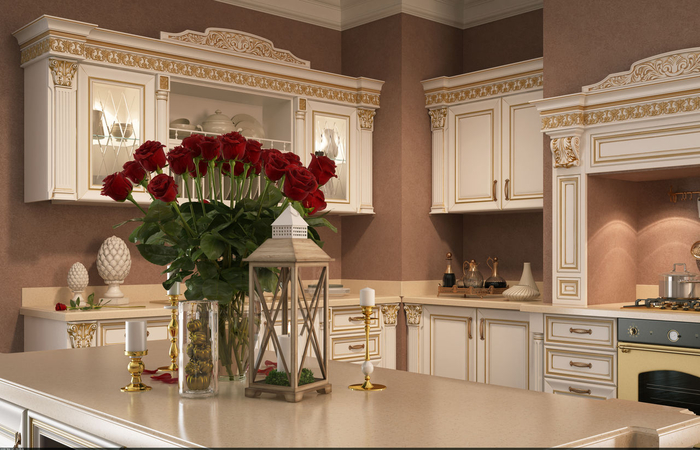 Мебель для кухни в зеленых тонах – природное тепло в любом пространстве (12) (700x450, 351Kb)
