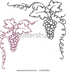 Превью stock-vector-decorative-grapes-vine-vector-ornament-frame-144975661 (429x470, 95Kb)
