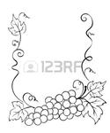 Превью 15589483-frame-with-grape (583x700, 121Kb)