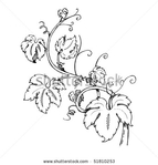 Превью stock-vector-grape-leaves-baroque-plants-51810253 (450x470, 70Kb)