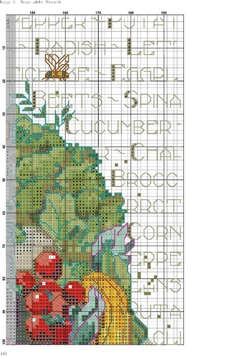 ОВОЩНОЙ ВЕНОК. Схема вышивки (3) (494x699, 368Kb)