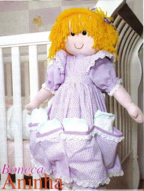 Шитье. Куколка с карманами для памперсов (1) (483x640, 494Kb)