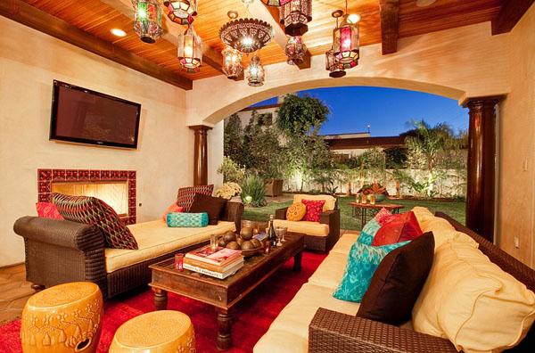 марокканский стиль в интерьере фото 1 (600x396, 283Kb)