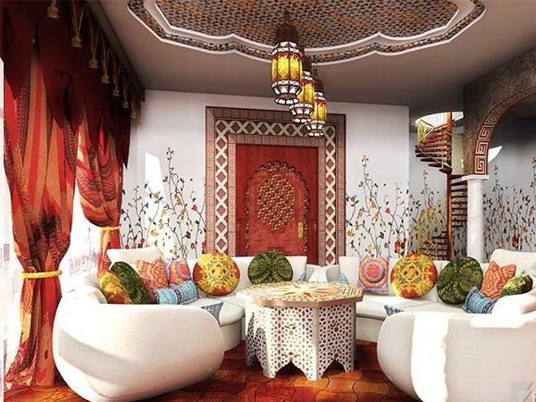марокканский стиль в интерьере фото 10 (600x450, 280Kb)