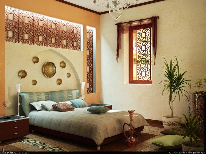 марокканский стиль в интерьере фото 12 (700x525, 444Kb)