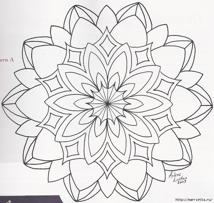 Декорирование и точечная роспись - имитация кружева (4) (700x661, 332Kb)