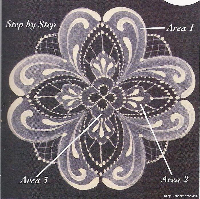 Декорирование и точечная роспись - имитация кружева (17) (700x697, 574Kb)