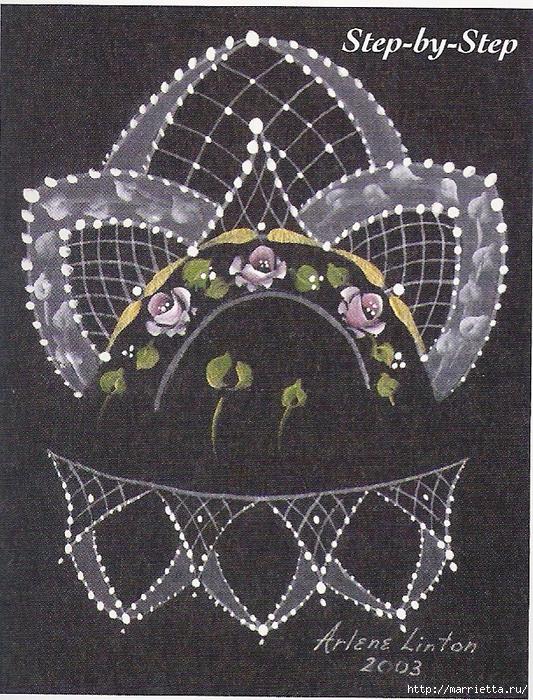 Декорирование и точечная роспись - имитация кружева (23) (533x700, 458Kb)