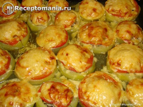 Кабачки фаршированные в духовке с фото пошаговый с фото