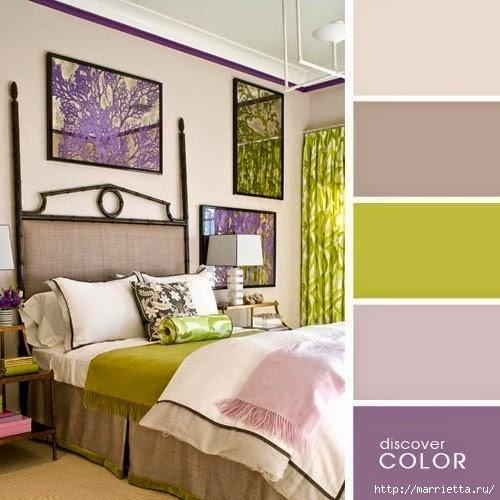 Цветовая гамма - таблицы сочетания цветов в интерьере (5) (500x500, 134Kb)