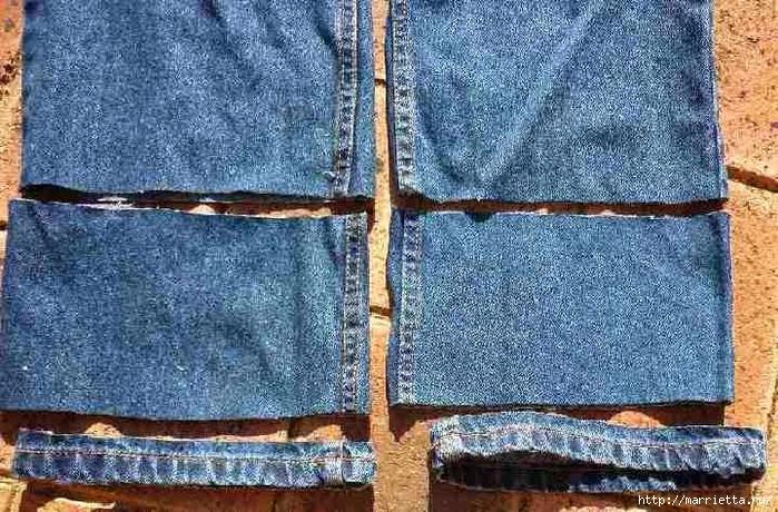 Подшиваем джинсы с сохранением потертого края (3) (700x460, 381Kb)