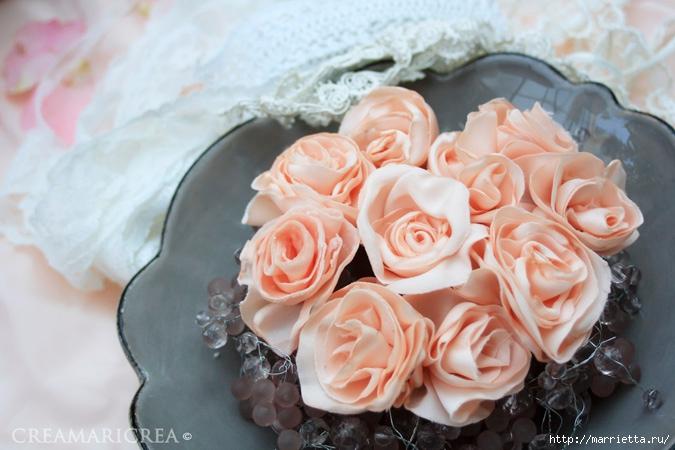 Ванильные розы из шелка. Мастер-класс (3) (675x450, 203Kb)