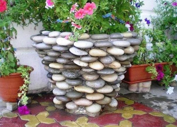 поделки из морских камней (9) (604x433, 208Kb)