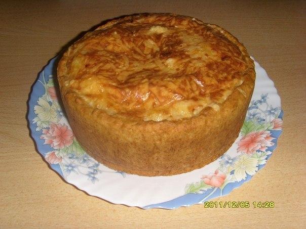 Сырно-луковый пирог с мясом (604x453, 60Kb)