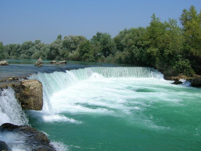 водопад манавгат турция фото 2 (700x523, 401Kb)