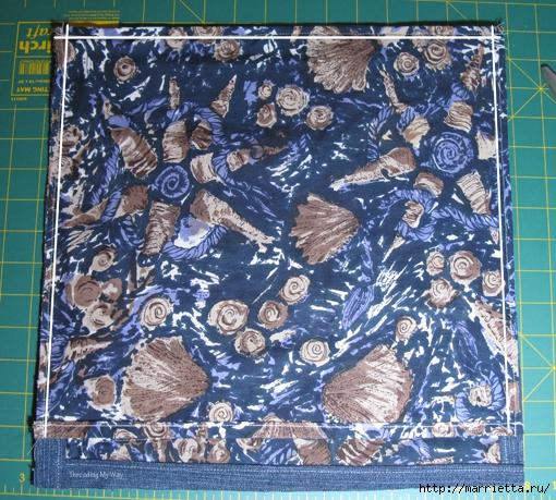 Подушка из джинсов для садовой скамейки (7) (510x459, 294Kb)