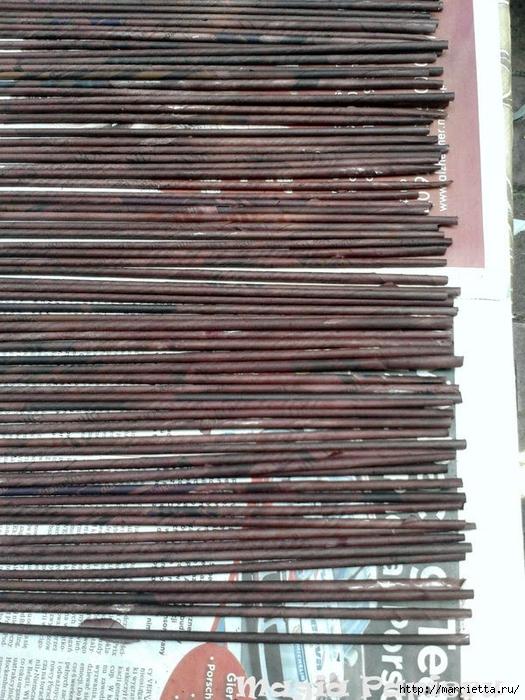 ЖАЛЮЗИ своими руками из газетных трубочек (2) (525x700, 320Kb)