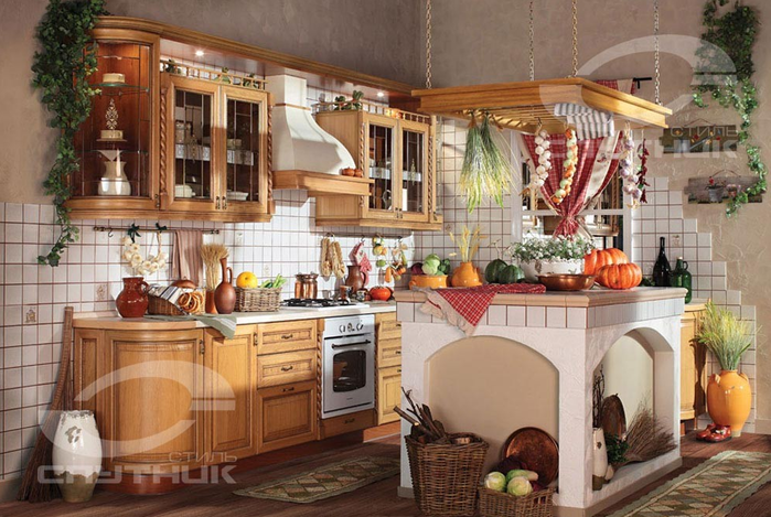 Кухонная мебель от фирмы СПУТНИК стиль (3) (700x469, 576Kb)
