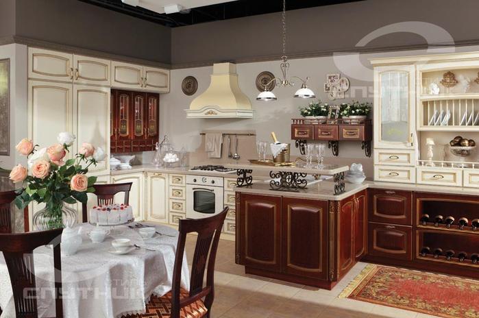 Кухонная мебель от фирмы СПУТНИК стиль (4) (700x464, 471Kb)