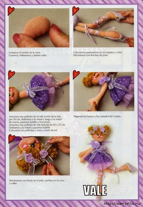 Шитье кукол. БАЛЕРИНЫ (9) (460x666, 232Kb)